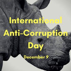 International Anti-Corruption Day – 9 December 2016