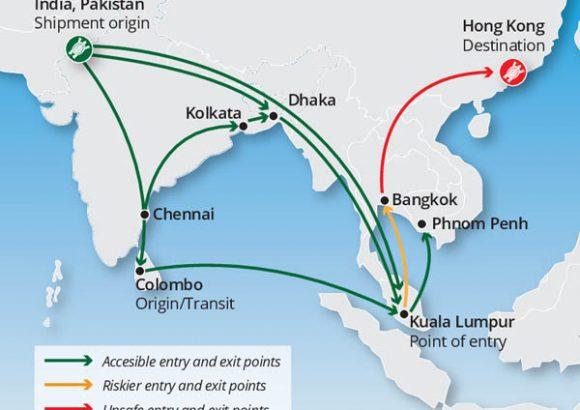 Malaysia linked to wildlife trafficking network