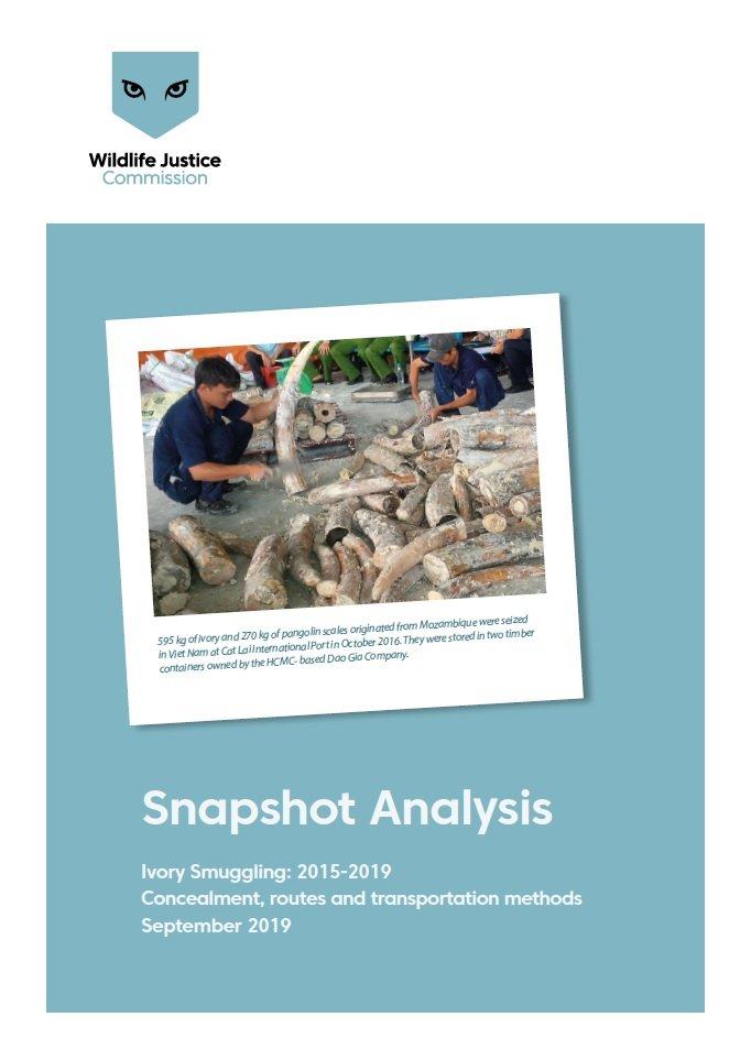 Ivory Snapshot Analysis - Ivory Smuggling